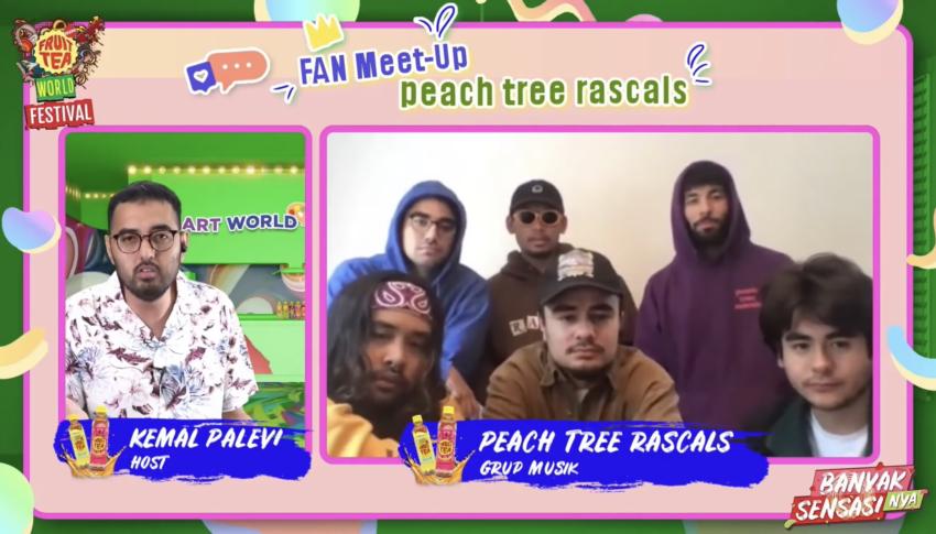 Fruit Tea World Festival Hadirkan Peach Tree Rascals di Pensi Online Ajang Kompetisi Kreativitas Anak Muda