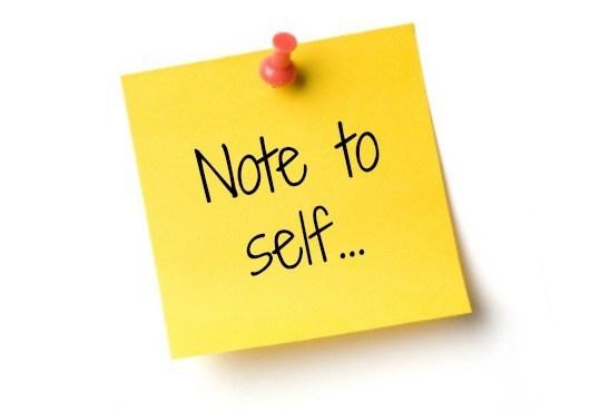 Note to Self: Jangan Terlalu Keras Sama Diri Sendiri!