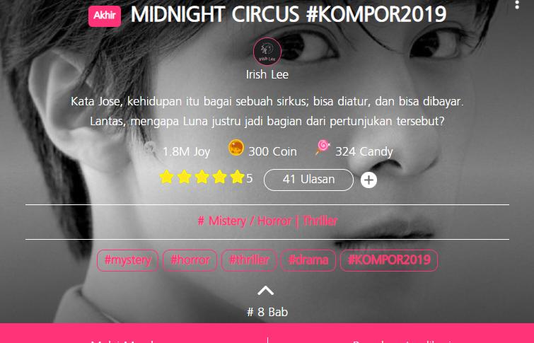 Review Midnight Circus: Terjebak Dalam Sirkus Mengerikan.