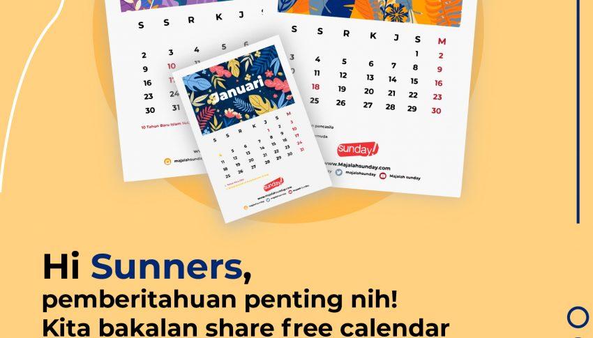 [GRATIS] Kalender 2021