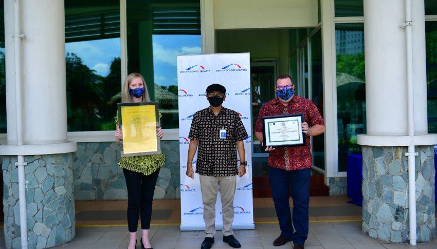 British School Jakarta Menjadi Sekolah Pertama Di Indonesia Yang Menerima GOLD  Greenship Certification Dari Green Building Council Indonesia
