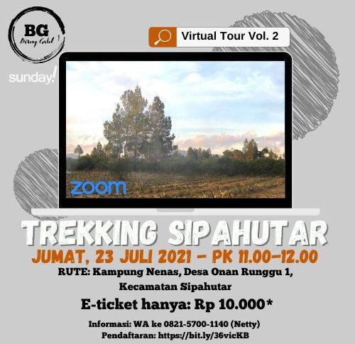 Trekking Sipahutar: Virtual Tour
